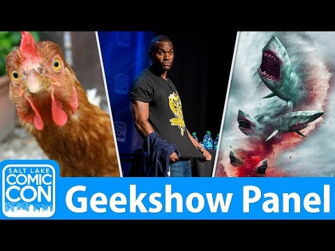 Geekshow || LIVE from Salt Lake Comic Con