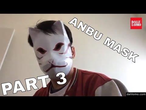 DIY Kakashi Anbu Mask Part 3 - Naruto Cosplay