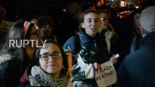 USA: Protesters face off over Israeli UN ambassador's visit to Columbia