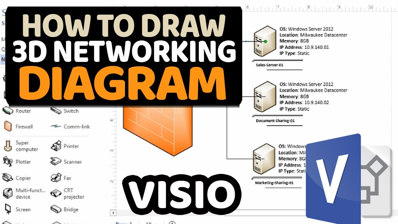 How To Make Network Diagram