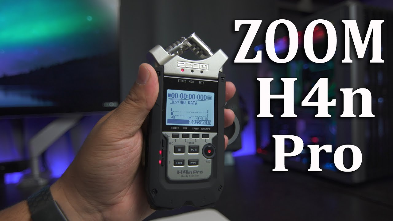 Zoom H4n Pro Digital Multitrack Recorder Review - Why Video Is Great