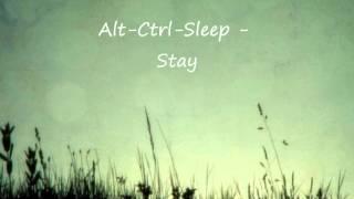 Alt-Ctrl-Sleep - Stay Video