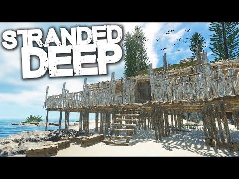 Stranded Deep   Survival Part 16   ISLAND BASE PLANS!!