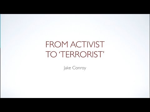 Jake Conroy: From Activist to Terrorist at IARC 2014