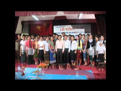 Lưu học sinh lào tại Trung tâm GDTX Tỉnh Điện Biên
