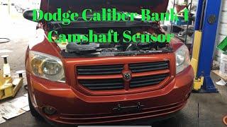 2010  Dodge Caliber bank 1 camshaft sensor removal