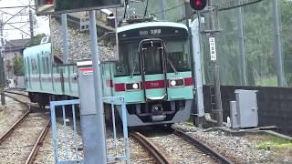 西鉄甘木線前面展望①宮の陣駅から古賀茶屋駅まで(2019.6.22)