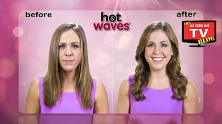 Hot Waves As Seen On TV Commercial Buy Hot Waves As Seen On TV Microwave Heat Wrap For Curls