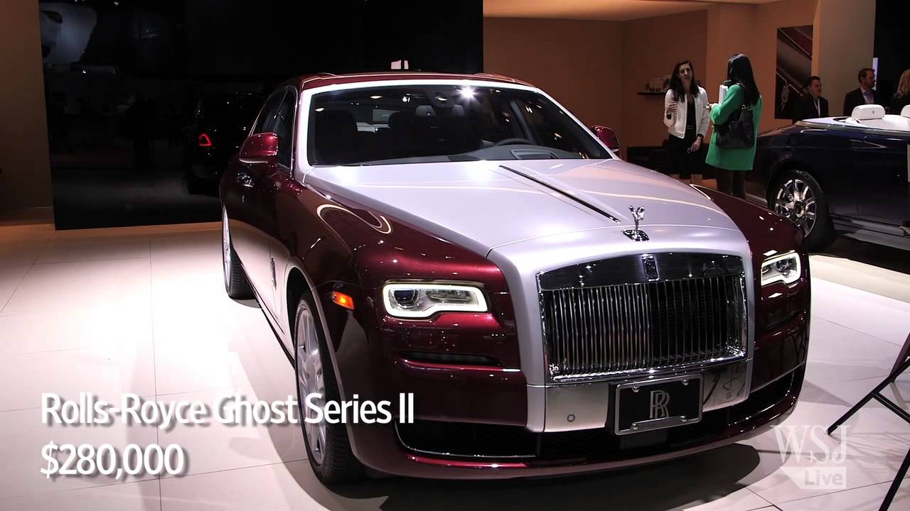 Good NY Auto Show: Top 5 Most Expensive Cars Good Looking
