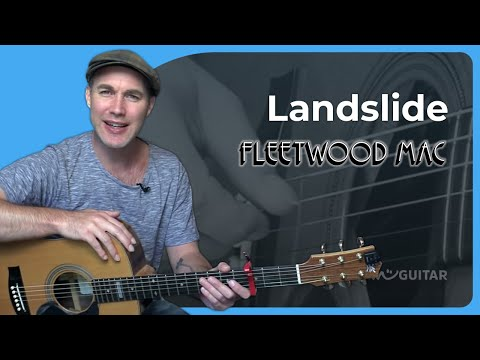 Landslide - Fleetwood Mac - Fingerstyle Acoustic Guitar Lesson (SB-426) Lindsey Buckingham