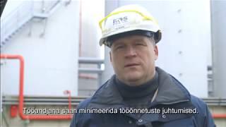 """Tööinspektsiooni auhinna """"Hea Töökkeskond 2017"""" laureaat Baltic Oil Service"""