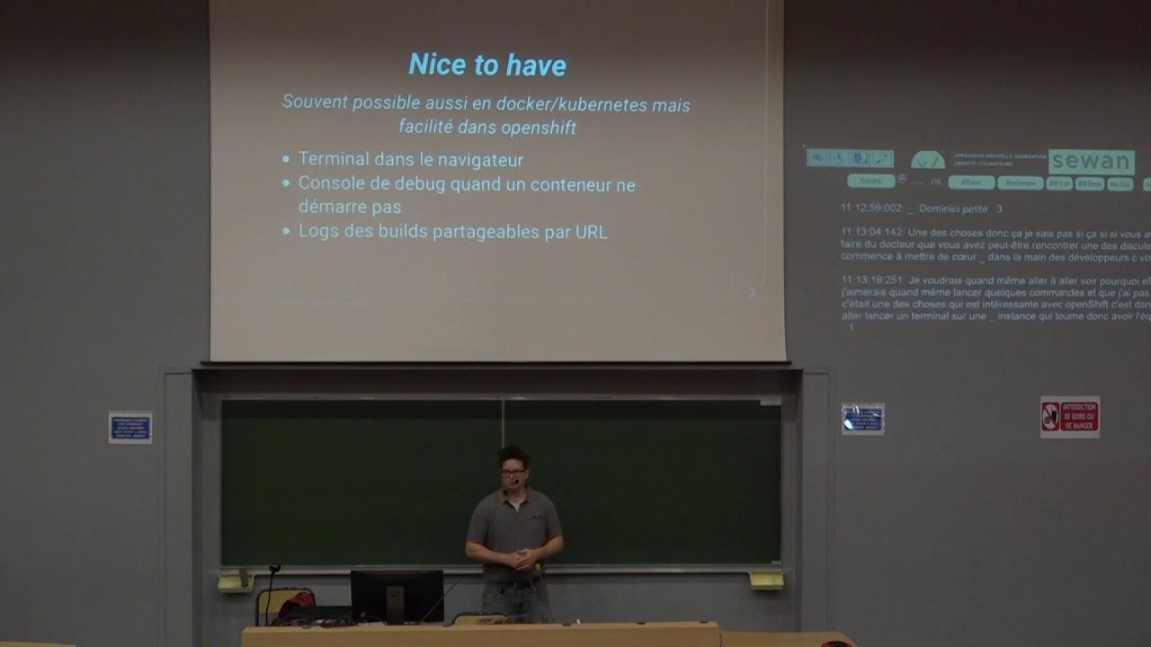 Image from Déployer des applications python dans un cluster openshift