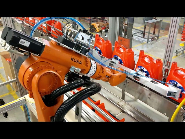 Robotic Pick & Place | Outfeed | Autotec Solutions