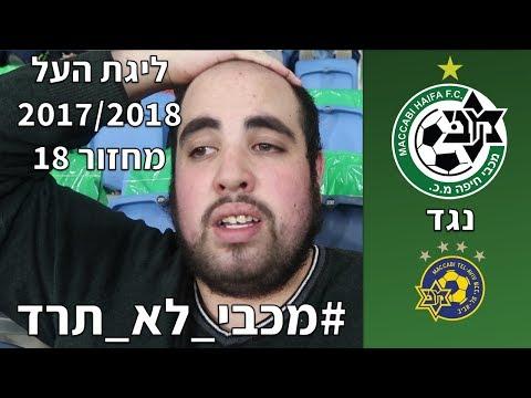 מכבי חיפה נגד מכבי תל אביב(מחזור 18, ליגת העל 17/18)