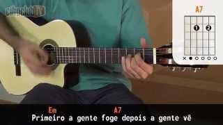Fugidinha - Michel Teló (aula de violão simplificada)