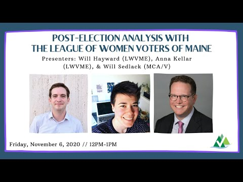 Lunch & Learn: Post-Election Roundtable with the League of Women Voters