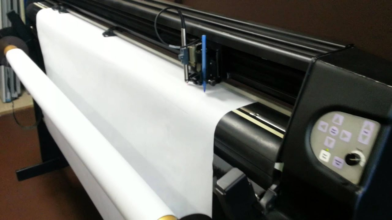 ioline plotter for sale  los angeles   youtube -