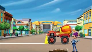 Blaze And The Monster Machines - Sneezing Cold - Blaze Monster Truck Cartoon