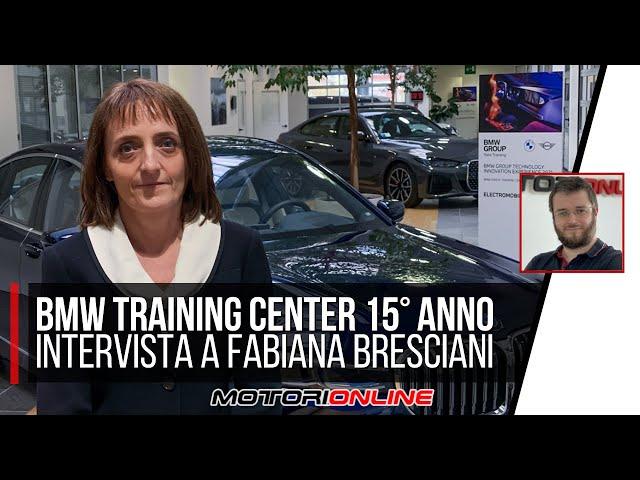 BMW TRAINING CENTER 15° ANNIVERSARIO | Intervista a Fabiana Bresciani