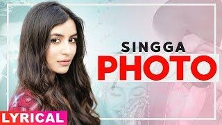 Photo Lyrical Singga ft Nikki Kaur Tru Makers Latest Punjabi Songs 2019 Speed Records