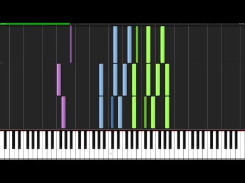 Toccata and Fugue in D minor - Johann Sebastian Bach [Organ Tutorial] (Synthesia)