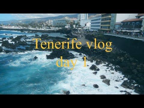 A week in Tenerife II DAY 1 [artsy vlog. 6]