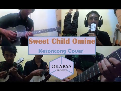 Sweet Child O Mine – Keroncong Cover Acoustic by Okarsa Project
