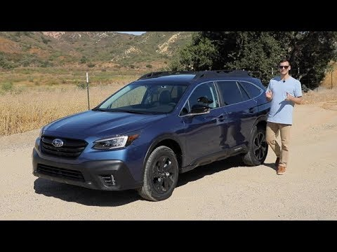 2020 Subaru Outback Onyx Edition XT Test Drive Video Review