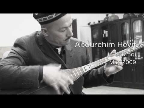 """Uyghur Dutar Song """"Kizlar"""" by Abdurehim Heyit"""