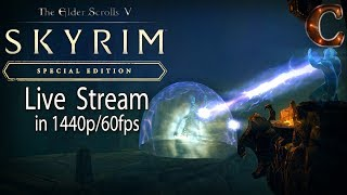 Skyrim Special Edition Live, in 1440p/60fps! Morokei the 8th Dragon Priest! Lvl 64 Part 91 Legendary