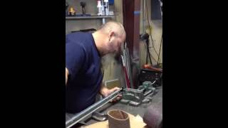 Hillbilly wheat and his redneck lathe