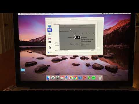 Zoom Accessibility on Mac Computer