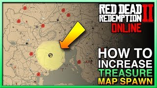 HOW TO GET Red Dead Redemption 2 Online Treasure Maps  - RDR2 Online Treasure - Red Dead Online
