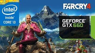 Far Cry 4 EVGA GeForce GTX 660 SC (2gb)