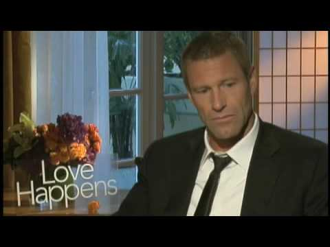 Interview Aaron Eckhart LOVE HAPPENS