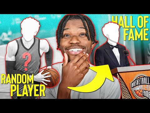 i tried to get a random nba player to the hall of fame in nba 2k21