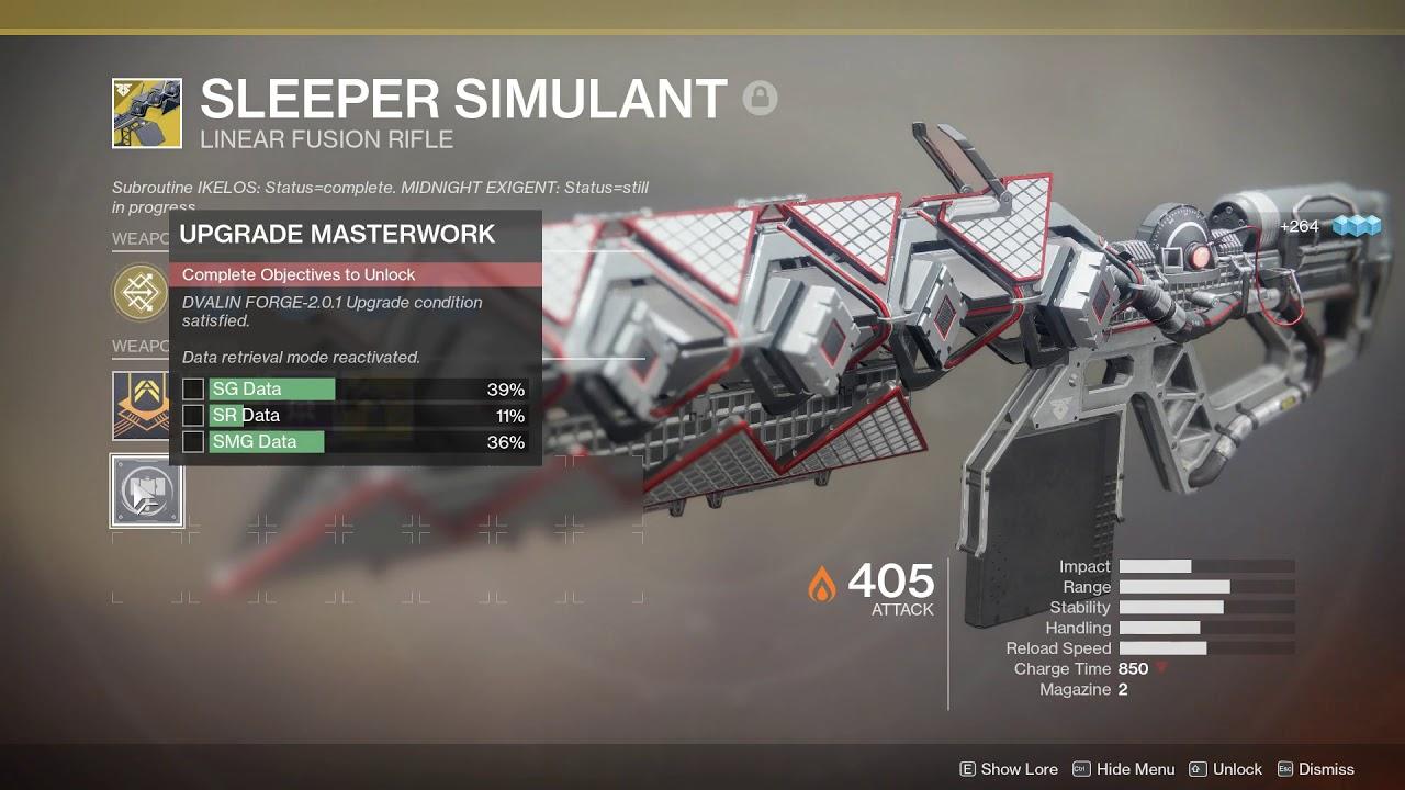 Destiny 2 Legend Of Acrius Catalyst Drop Rate D2 How To Quickly Farm Any Kills Catalyst Masterworks Via