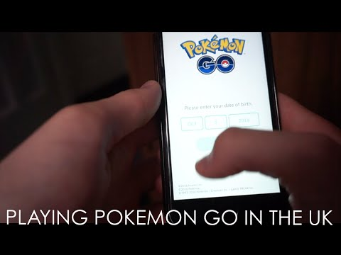 PLAYING POKEMON GO IN THE UK?!