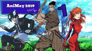 Samurai, Exorcists & Plug Suits - AniMay 2019