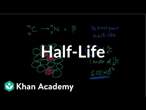 Half-life and carbon dating | Nuclear chemistry | Chemistry