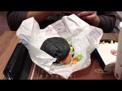 BK Japan Kuro Burger