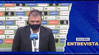 """Ricardo Parra: """"Fue un partido muy parejo donde cualquiera de los dos pudo haber ganado"""""""