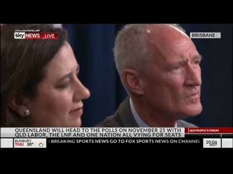 Sky News - Queensland Election 2017 - Leaders Forum