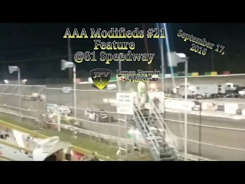 Easy Pay AAA Modified Feature #13, 81 Speedway