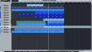 Как создать аранжировка песни/Music Arrangements Beats In Studio One