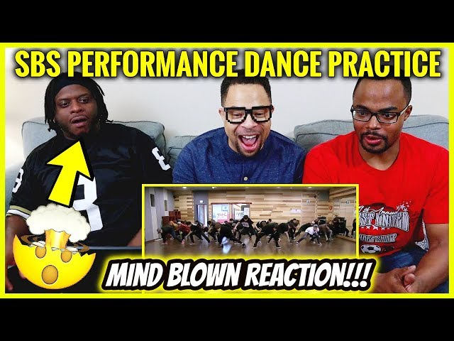 HipHop Dancers Mind Blown Reaction to BTS SBS PERFORMANCE DANCE PRACTICE 😱
