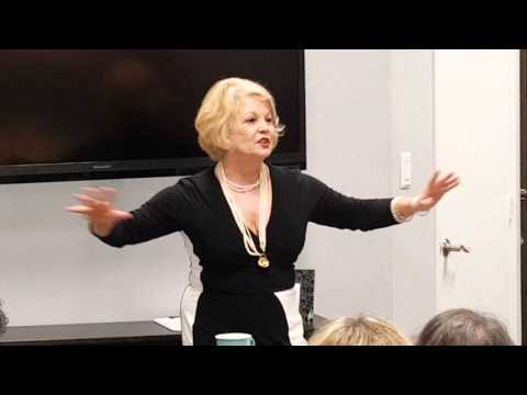 Kathy Garver Welcomes Her Guests at The Girl Cave