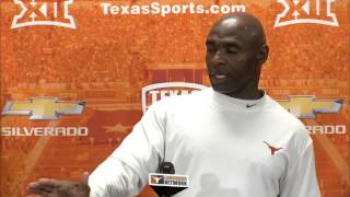 Charlie Strong press conference [April 15, 2015]