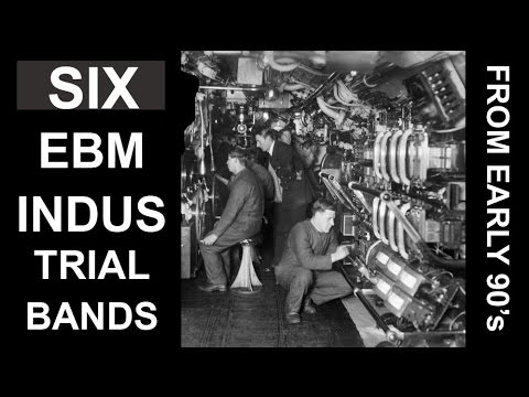 6 old school EBM/ Industrial bands from early 90's