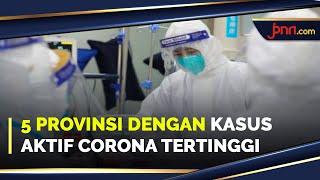 Kasus Aktif Corona di 5 Provinsi Masih Tinggi, Jawa Barat Nomor 1 - JPNN.com